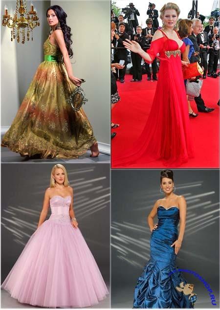 Шаблоны шаблоны вечерние платья