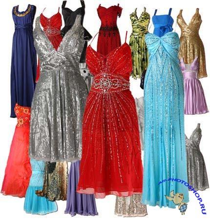 элегантные платья в PSD » Всё для работы