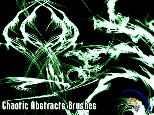 Chaotic Abstracts Brushes