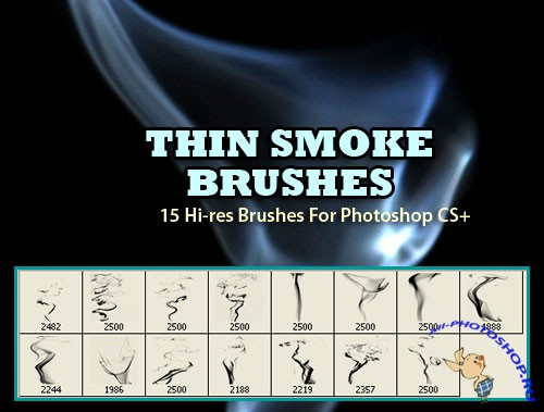 Thin Smoke Background Brushes