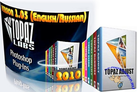Topaz Photoshop Bundle 2010 1.05 (Eng & Rus)