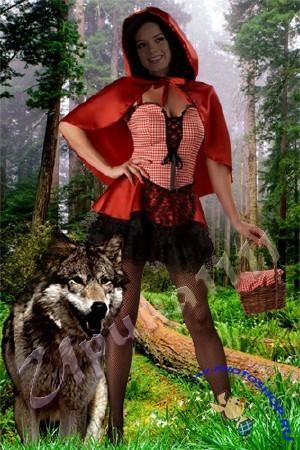 Красная шапочка и волк...