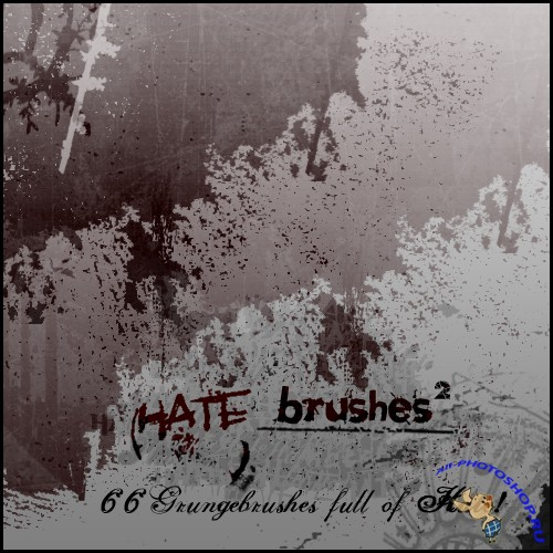 Hate Brushes 2 for PS