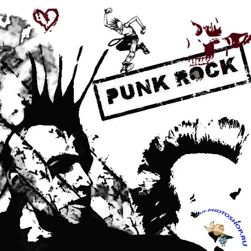 Punk Rock Brushes