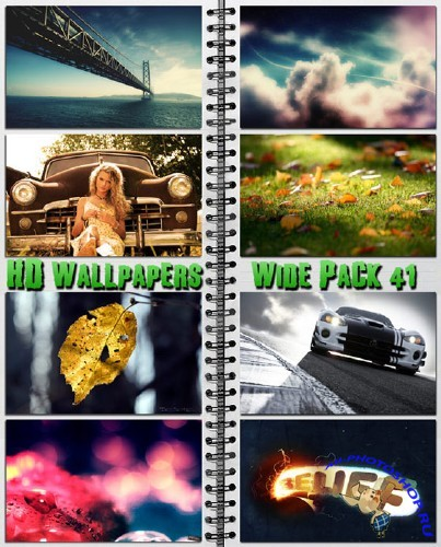 HD Wallpapers Wide Pack 41.