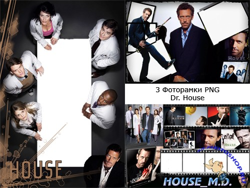 "3 ��������� ��� Adobe Photoshop - ""Dr.House"""