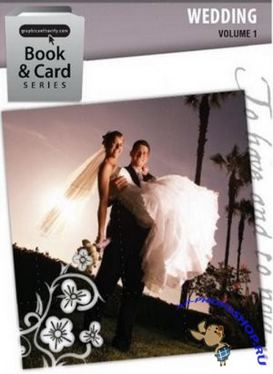 Gr�phi� �uth�rity - Wedding Templates [Book & Card series - volume 1] 3xDVD5 (2009�) - PSD