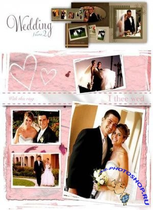 Grаphiс Аuthоrity - Wedding Templates [Book & Card series - volume 2] 3xDVD5 (2009г) - PSD