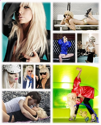 Wallpapers collection of shocking Lady GaGa