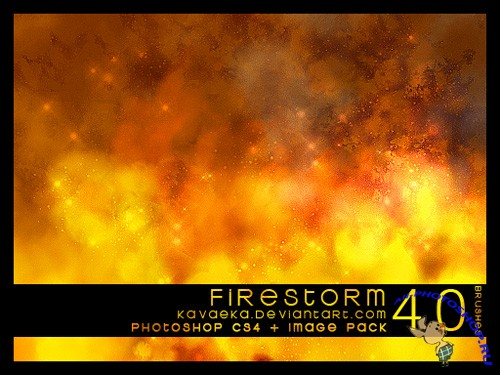 Firestorm Brushes