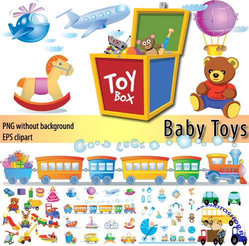 ������� ������� | Toy Box (PNG + EPS clipart)