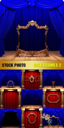 Stock Photo - Gold Frames 2