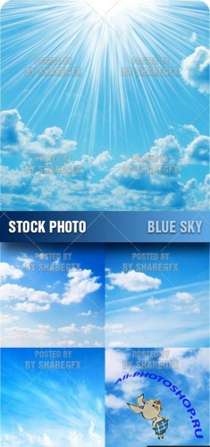Stock Photo - Blue Sky