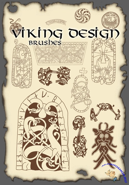 Viking Design Brushes