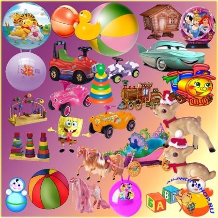 Клипарт - Детские игрушки » Всё для ...: all-photoshop.ru/4173-klipart-detskie-igrushki.html