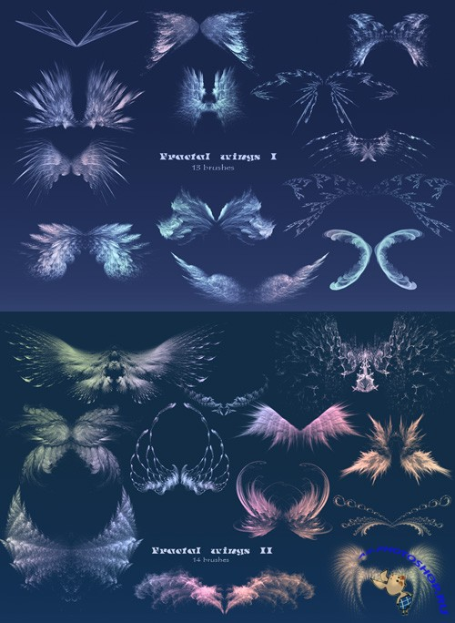 Fractal Wings I and II