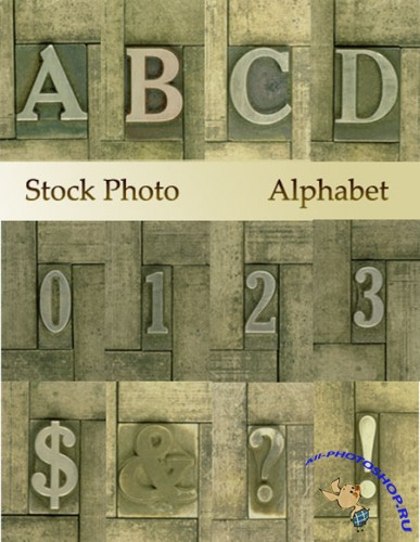 Stock photo - Alphabet / Алфавит