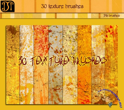 30 texture brushes