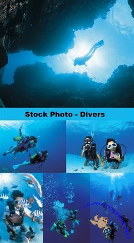 Stock Photo - Divers