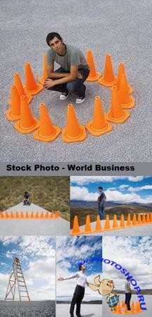 Stock Photo - World business
