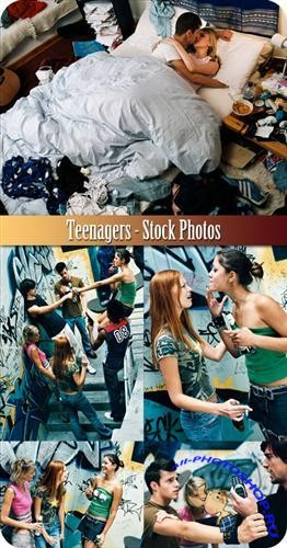 Teenagers - Stock Photos
