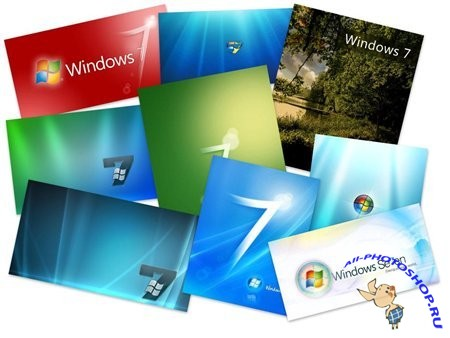 75 Windows 7 HQ Wallpapers