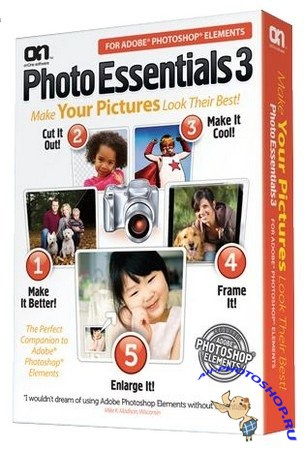 OnOne Photo Essentials 3.0.3 for Adobe Photoshop Elements (Eng)