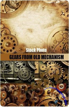 Gears from old mechanism ( ���������� ������ ���������� )