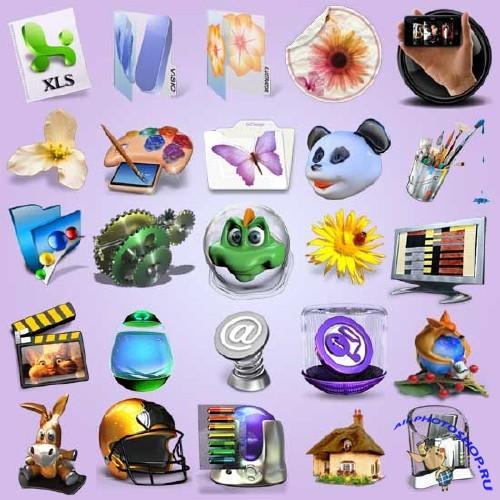 Большой сборник иконок для рабочего ...: all-photoshop.ru/6962-bolshoy-sbornik-ikonok-dlya-rabochego-stola.html