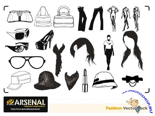 Go Media's Arsenal - Complete Vector Set 15