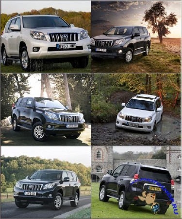 Обои - Toyota Land Cruiser Prado