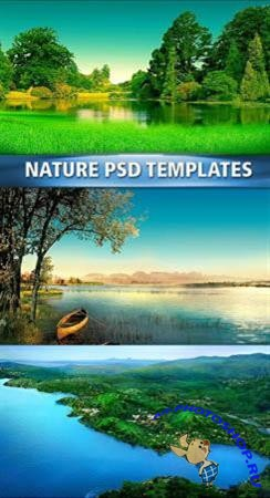 Nature PSD templates
