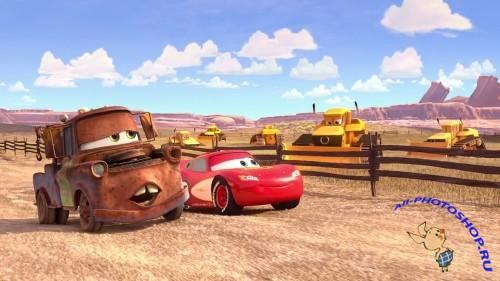 Тачки мультачки байки мэтра cars toon