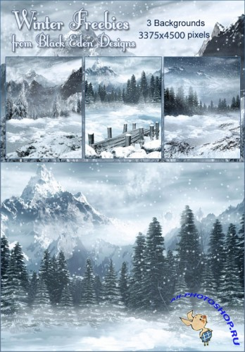 Backgrounds - Set Winter