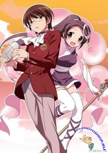 Одному лишь Богу ведомый мир / Kami nomi zo Shiru Sekai / The World God Only Knows (2010/HDTVRip)