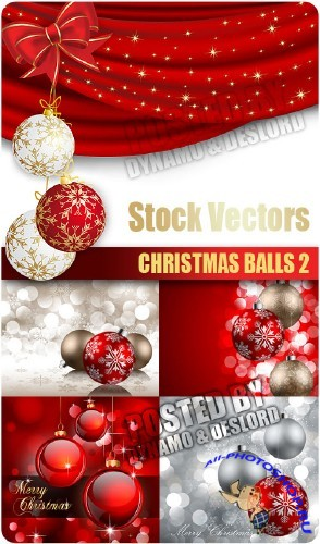 Stock Vectors - Christmas Balls 2 | Новогодние Шары 2