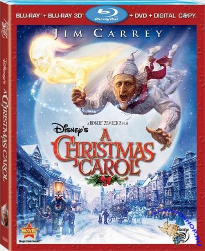 �������������� ������� / A Christmas Carol (2009) BDRip