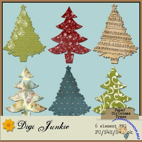 PNG Clipart - Christmas Trees