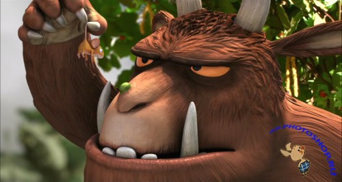 Граффало / The Gruffalo (2009) HDTVRip