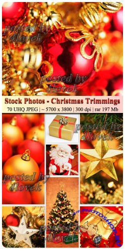 Stock Photos - Christmas Trimmings