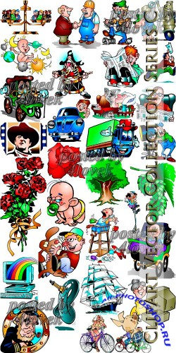 ClipArt Vector Collection Series C
