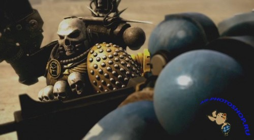 Ультрамарины / Ultramarines: A Warhammer 40,000 Movie (2010) DVDRip