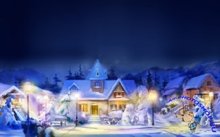 ���������� ����. ����� 1 / Christmas Wallpapers. Part 1 (2011)