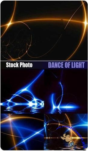 Stock Photo - Dance of light