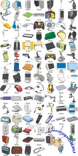Vector clipart - Computers