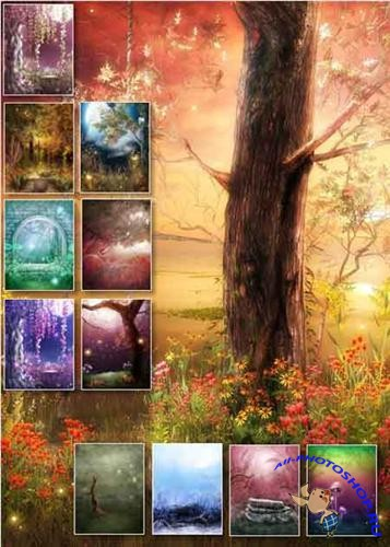 Set Of Fairy ( 40 Backgrounds )