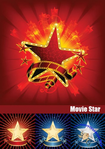 Stock Vectors - Movie Star