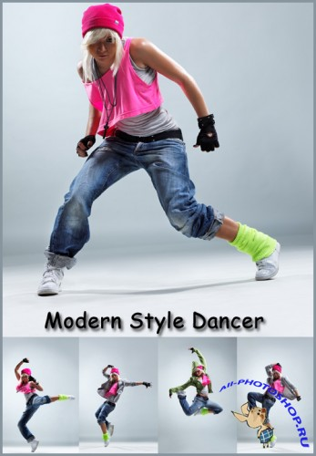 Modern Style Dancer - Stock Photos