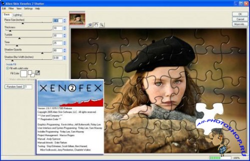 Alien Skin Xenofex 2.6.1.1078 for Photoshop 32/64 bit