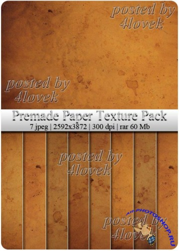 Premade Paper Texture